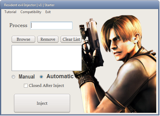 Resident evil Injector